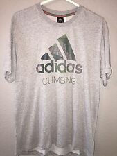 Adidas Climbing T-Shirt Men's Size Large NWT Outdoors NEW