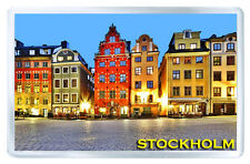 STOCKHOLM SWEDEN MOD3 FRIDGE MAGNET SOUVENIR IMAN NEVERA