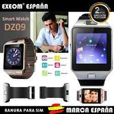 Bluetooth SmartWatch DZ09 Phone Reloj Inteligente 2G Para iPhone SAMSUNG Sony