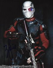 WILL SMITH SIGNED HAND AUTHENTIC 'SUICIDE SQUAD' 8X10 PHOTO w/COA ACTOR