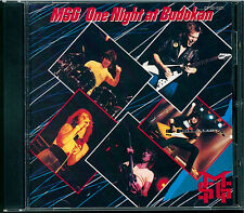 Michael Schenker Group - One Night At Budokan CD Japan CP32-5121 black triangle