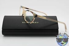 Burberry RX Eyeglasses B 2180 3502 52 16 140 Light Tortoise Frame