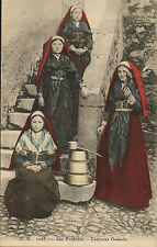 early 1900s - les pyrenees - costumes ossalois