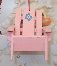 Pink Chair Christmas Ornament