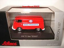 SCHUCO VW T1 VAN ESSO 1/87° HO