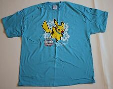 Pokemon Pikachu TCG World Championships Competitor 2007 Blue T Shirt Mens XL New