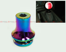 M10 X 1.25 NEO CHROME ALUMINUM SHIFT KNOB BOOT RETAINER ADAPTER FITS MITSUBISHI