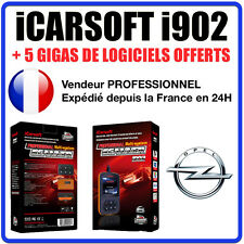 Valise Diagnostique OPEL - iCar SOFT I902 - OPEL OP - GM TECH COM - OBD2 SCANNER