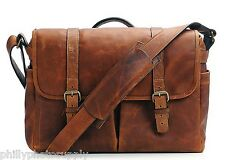 Ona Brixton Cognac Leather Camera / Messenger Bag - Handcrafted Premium Bags