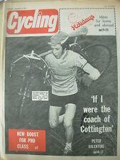 CYCLING MAGAZINE JANUARY 8 1972