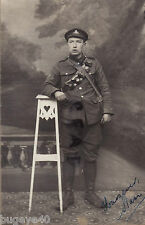 WW1 Soldier Driver ? and Observer Royal Artillery in France