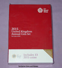 2015 ROYAL MINT UK BRILLIANT UNCIRCULATED SET COINS - 13 Coins
