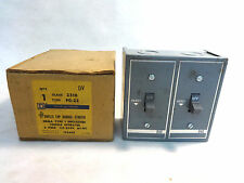 NEW IN BOX SQUARE D 2510 FG-22 DUAL MANUAL MOTOR STARTER