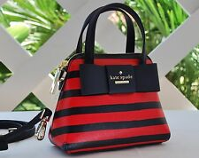 NWT Kate Spade Crossbody Julia Street Stripe Mini Maise