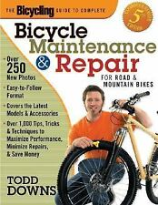Guide to Complete Bicycle Maintenance & Repair For Road & Mountain Bikes