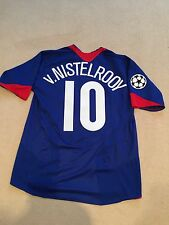 Manchester United Away Camicia 2005/06 adulti medio (M) V. NISTELROOY 10 Nike