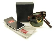 Ray Ban 2176 Folding Clubmaster 990 Havana G15 New Authentic