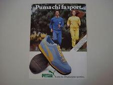 advertising Pubblicità 1983 SCARPE PUMA