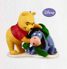 2010 Hallmark A GIFT FOR EEYORE Disney Ornament WINNIE THE POOH *Priority Ship