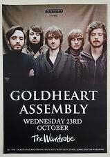 GOLDHEART ASSEMBLY Gig Band Promo POSTER UK 2013 Long Distance Sound Effects
