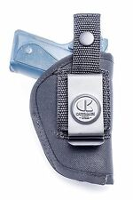 Nylon IWB Inside & OWB Belt Holster for S&W Bodyguard 380, Ruger LCP, Colt 380