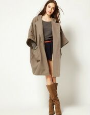 *NEW* NWT Surface To Air Duffle Oversized Cape Wool Coat Beige XS-S $710 Acne