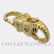 Authentic Trollbeads 18K Gold Elephant Lock Trollbead TAULO-00007 *LAST ONE*