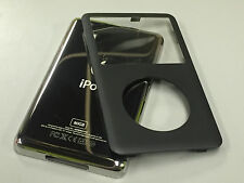 New iPod 6th 6.5 7th Gen Classic Black Front Faceplate 80GB Back Cover Housing