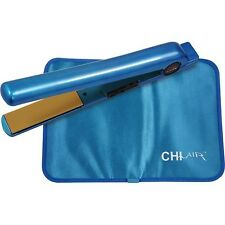 "Chi Air Expert Classic Tourmaline Ceramic Flat Iron 1"" - Oceanic Blue- VG"
