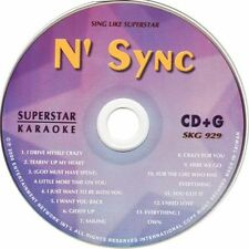 N' SYNC Superstar Karaoke SKG-929 13 SuperHits CDG NEW!