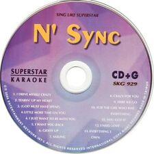 N' SYNC Superstar Karaoke SKG-929 13 SuperHits CDG NEW!