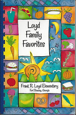 *FORT BENNING GA 2008 FRANK R LOYD ELEMENTARY SCHOOL COOK BOOK *FAMILY FAVORITES