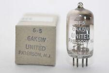 United Paterson MIL 6ak5w/5654/ef95 tubo per TELEFUNKEN/Tab v81, NOS