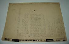 Ersatzteilkatalog Microfich VW Polo I Typ 86 / Audi 50 / Derby bis Baujahr 1981!
