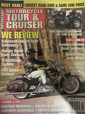 Motorcycle Tour & Cruiser Magazine May 1998 We Review Kawasaki Sport/Tour Concou
