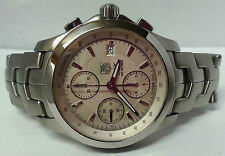 Tag Heuer Link Chronograph Automatic Stainless Steel Watch CJF2111, Accessory