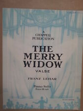 piano solo THE MERRY WIDOW Franz Lehar