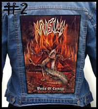 KRISIUN   --- Huge Jacket Back Patch Backpatch --- Various Designs