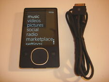 MICROSOFT  ZUNE  BLACK   80GB...NEW  HARD DRIVE...
