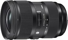 Sigma 24-35mm F2 DG HSM 'a' art lentille pour Nikon af (uk stock)