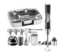 5KHB3581MS Mixer immersione Cordless KitchenAid Professionale Valigia Accessori