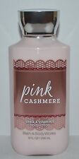 NEW BATH & BODY WORKS PINK CASHMERE LOTION CREAM SHEA BUTTER VITAMIN E 8 OZ