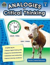 Analogies for Critical Thinking Grd 4, Foster, Ruth, Acceptable Book