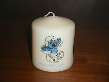 Candle Picture A Smurf Can be Personalised Gift Birthday Friends Love New