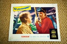 UP PERISCOPE Original Vintage SCUBA DIVING Lobby Card JAMES GARNER FRANK GIFFORD
