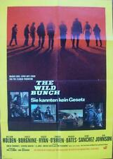 SAM PECKINPAH THE WILD BUNCH ORIGINAL VINTAGE WESTERN FILM POSTER
