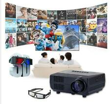 2000lumens 1080P LED Projector Full HD 3D Home Theater Cinema TV Video HDMI PC 6