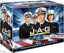 JAG 1-10 (Judge Advocate General) (1995-2005) COMPLETE TV Seasons Series NEW DVD