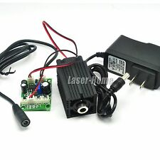 808nm 500mw IR Focusable Dot Laser Diode Module w/ 12V Adapter + TTL/Driver +Fan