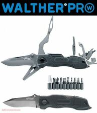 WALTHER PRO Multi Tac Knife Multitool Messer Mobile Werkstatt mit 18 Funktionen